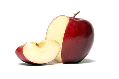 From Qualityfood.ae Fruits Fresh Cubed Red Apple with Skin