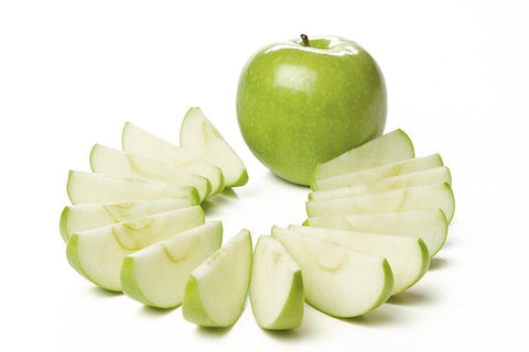 From Qualityfood.ae Fruits Fresh Sliced Green Apple with skin