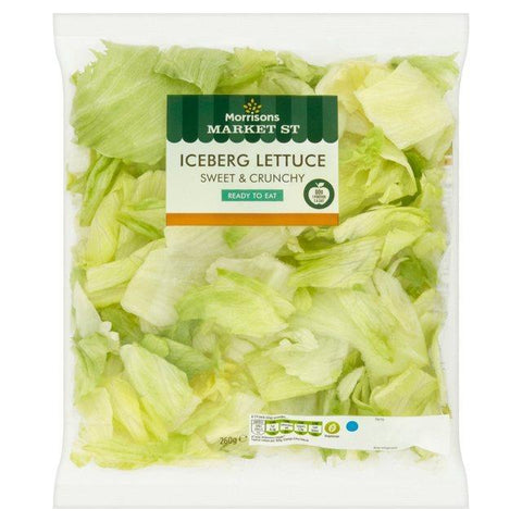 "From Qualityfood.ae Vegetables Iceberg Lettuce Cut "" Washed &  Ready to Eat"""
