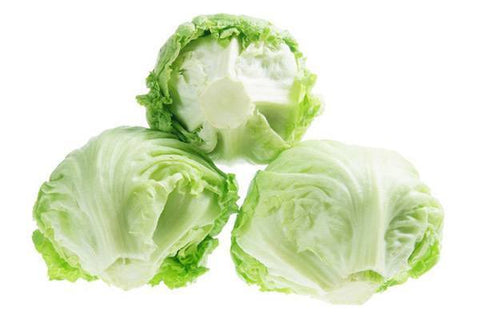 "From Qualityfood.ae Vegetables Iceberg Lettuce Leaves "" Washed &  Ready to Eat"""