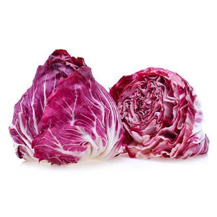 "From Qualityfood.ae Vegetables Radicchio Cut "" Washed &  Ready to Eat"""