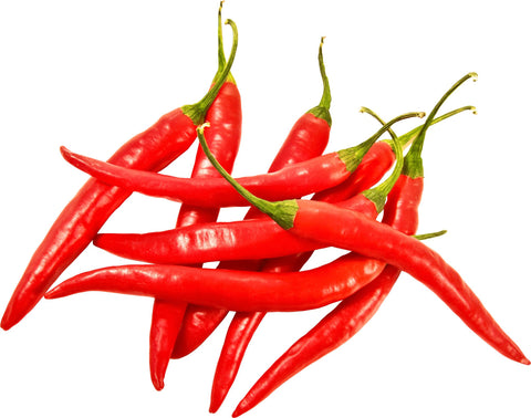 From Thailand Vegetables Red Chilli