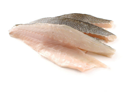 "From Turkey Seafood Farm Raised Fillet Sea Bass ""Loup De Mer"", Family Pack"