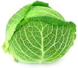 From UAE Vegetables Organic Savoy Cabbage