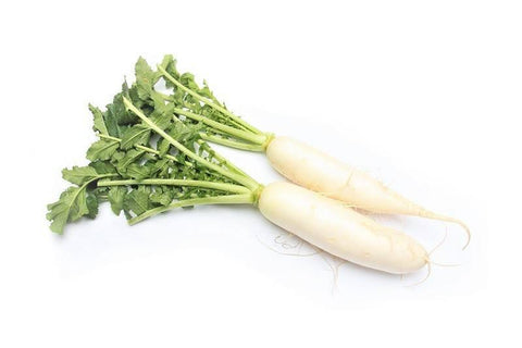 From UAE Vegetables Organic White Radish