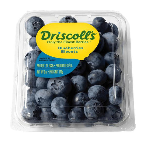 From USA Fruits Blueberry Driscolls