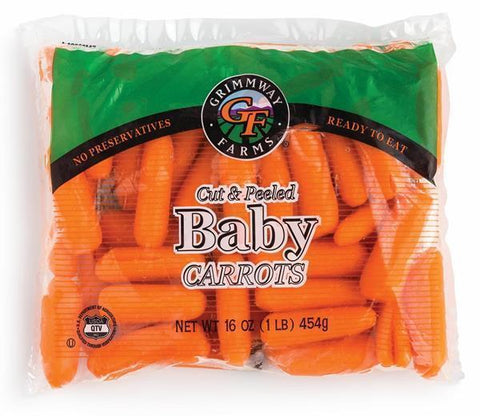 From USA Vegetables Baby Carrots