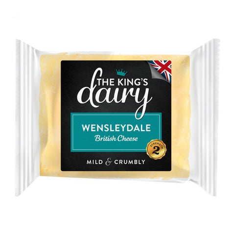 The King's Dairy Wensleydale Cheese 200g - Gluten Free