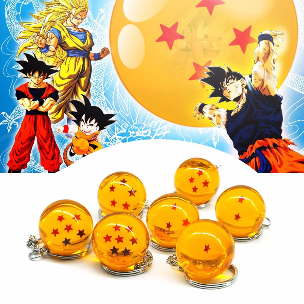 Pack 7 Llaveros Dragon Ball Z