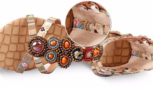 Bohemian Summer Sandals For Women