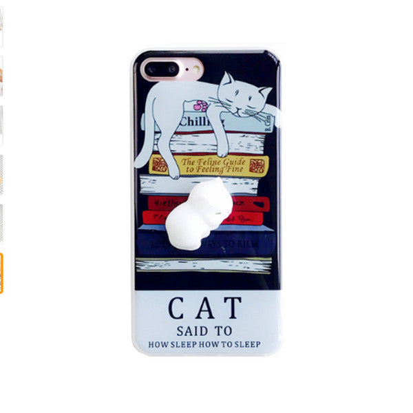 Cute Squishy Cat Phone Cases + Other Animals