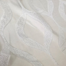 Embroidered Wave Table Linen