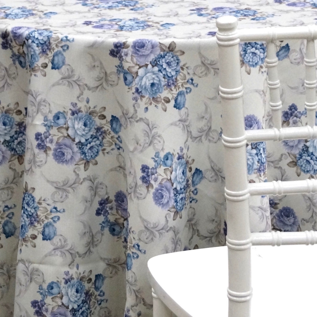 Blue Blossom Bunch Table Linen