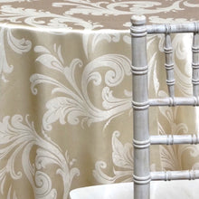 French Damask Table Linen