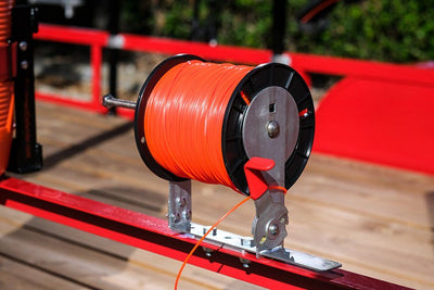 Line Spool Rack