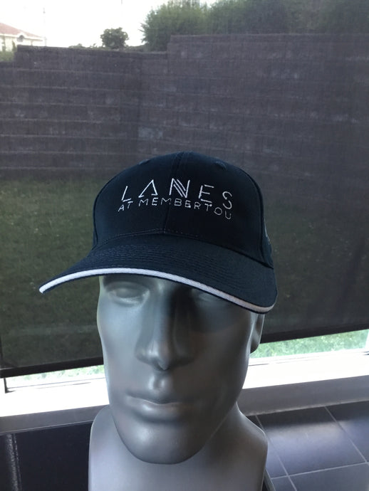 Navy Blue Lanes Hat