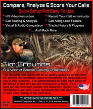 Learn How To Use A Goose Call With Tim Grounds