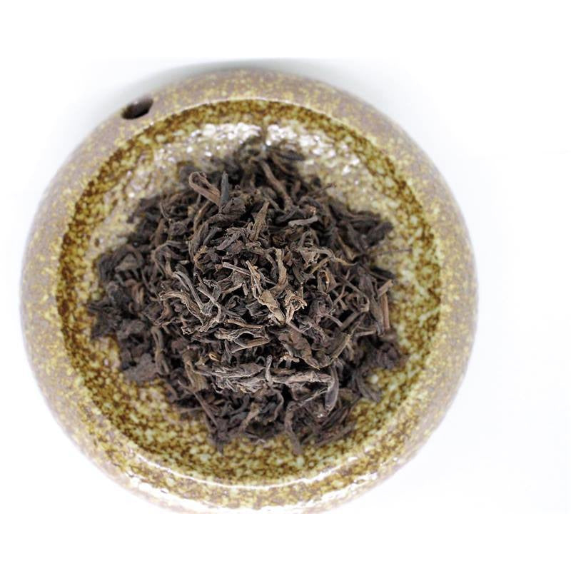 1990's Yi Wu Tong Xing Hao Factory Big Loose leaf Sheng (Raw) Pu-erh Tea