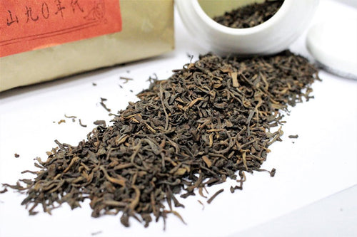 1990 Gong Ting Royal Tips Loose Leaf Pu-erh