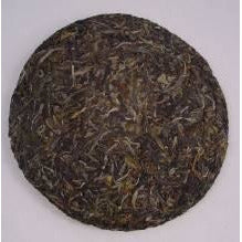2004 Awazon Green Pu-erh Beeng Cha - 350 grams