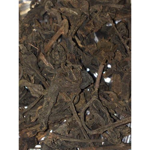 1980's Jiang Cheng Factory Loose Big Leaf Sheng Pu-erh Tea