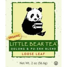 Little Bear Tea Wulong & Pu-erh Blend - 2oz