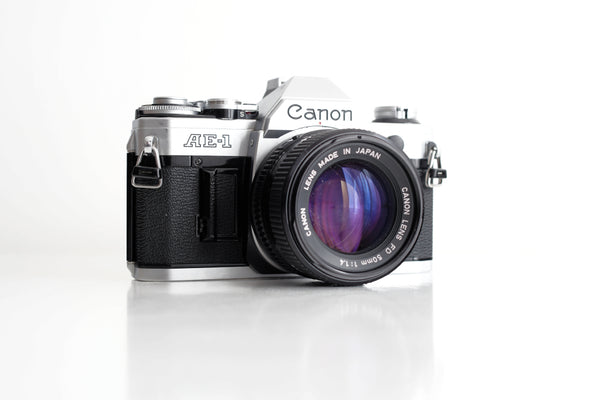 Canon AE-1 : le test complet
