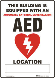 """Where should we put our AED?"""