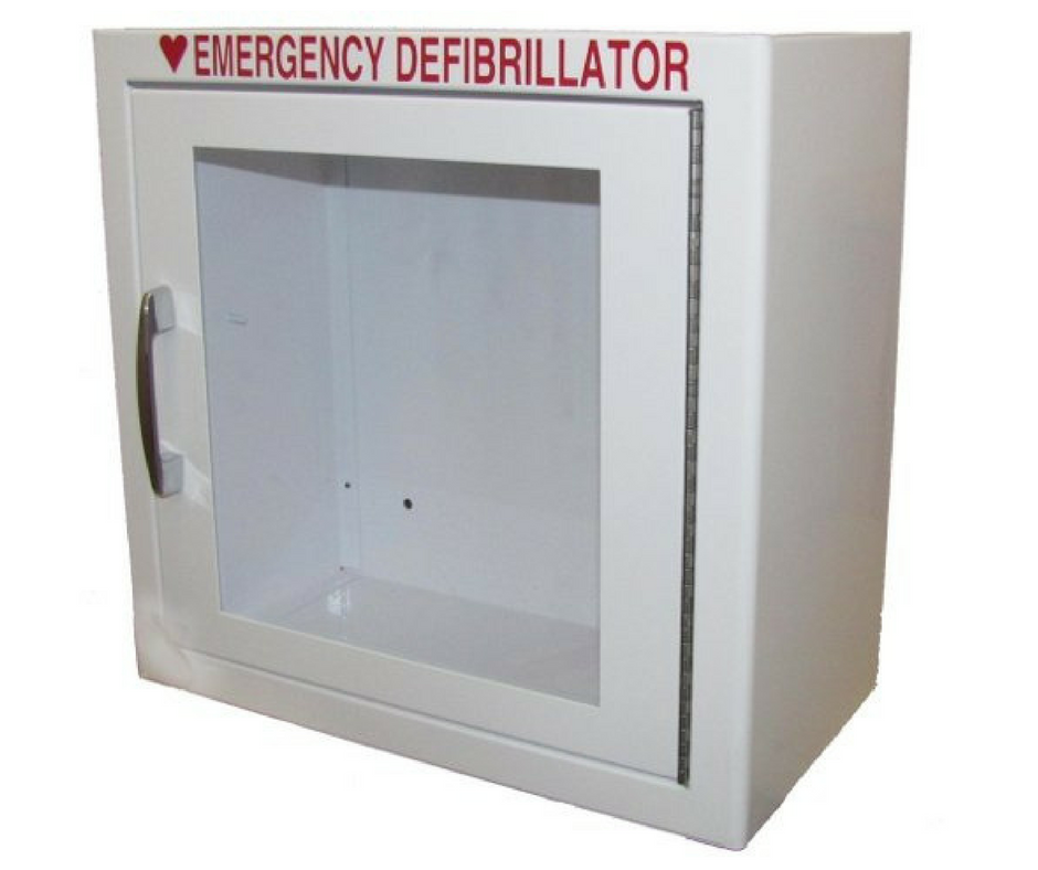 Surface-Mounted AED Wall Cabinet (No Alarm)