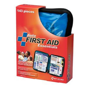 143-Piece Auto First Aid Kit-Softpack