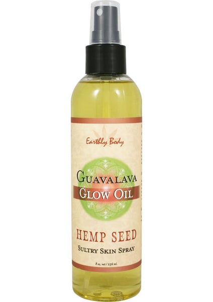 Hemp Seed Glow Oil Guavalava 8Oz