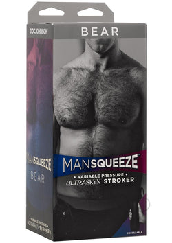 Man Squeeze Bear Ass Vanilla