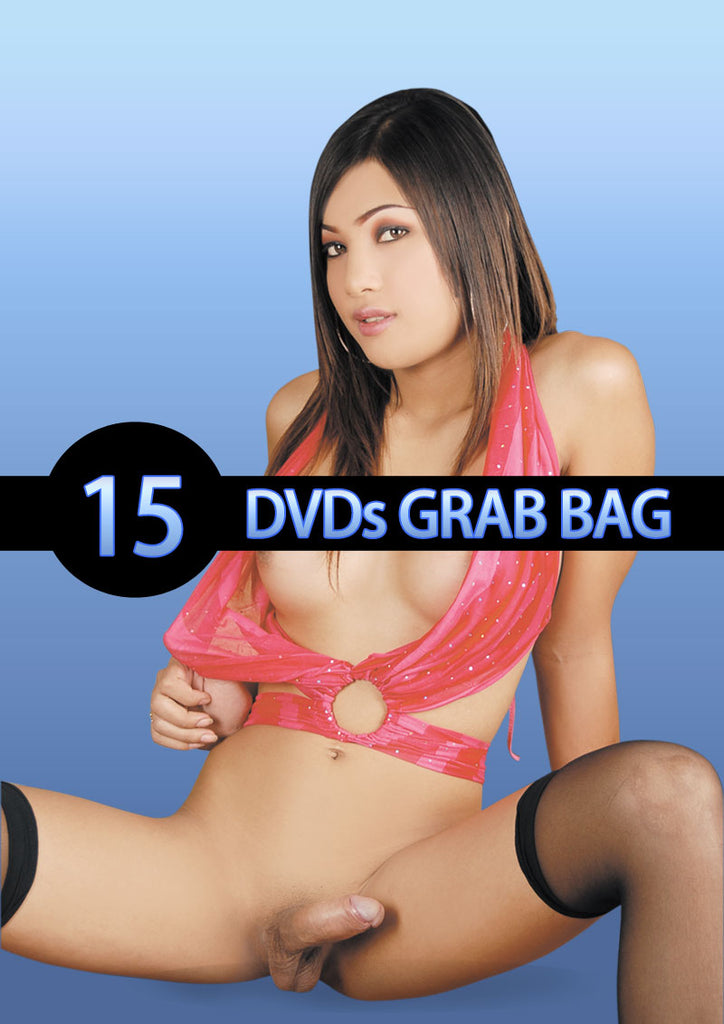 Pd Grab Bag Shemale 15 Dvds