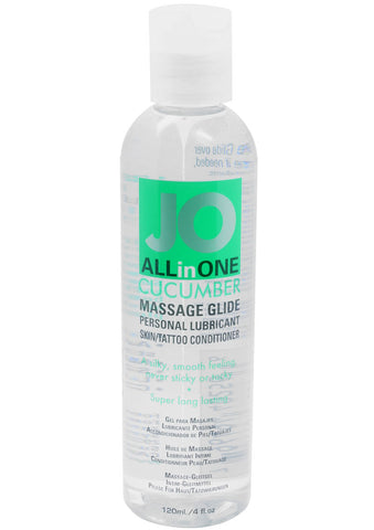 All In One Massage Glide Cucumber 4Oz - [product_type ] - Daily Sensations