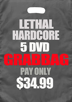 Lethal Hardcore 5 Dvd Grab Bag
