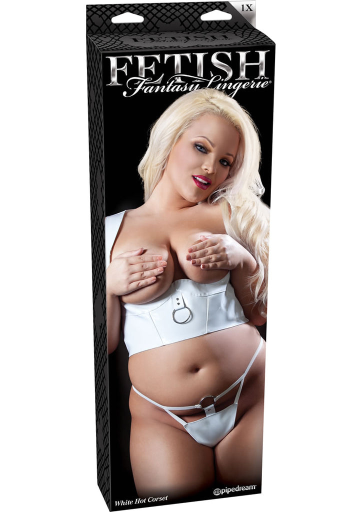 Ffl White Hot Corset 1X