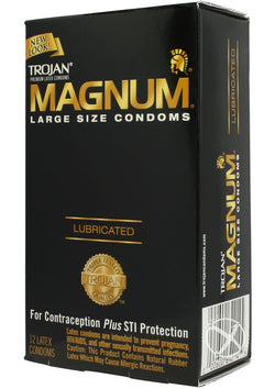 Trojan Magnum 12'S - [product_type ] - Daily Sensations