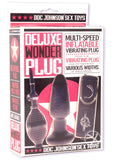 Deluxe Wonder Plug Inflatable Vibr