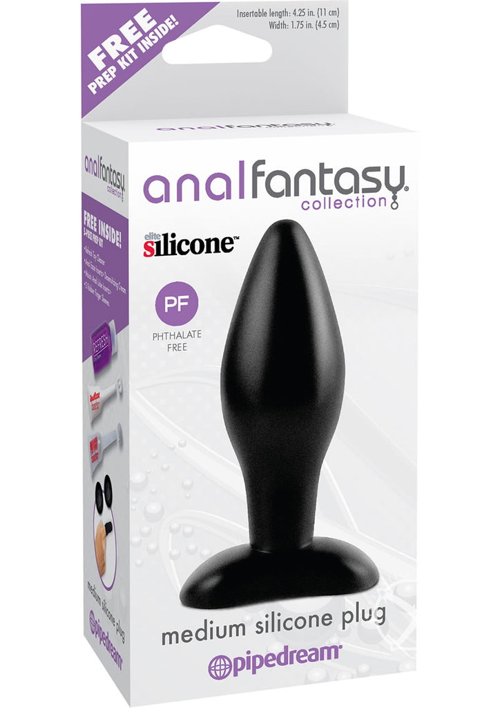Afc Medium Silicone Plug Black