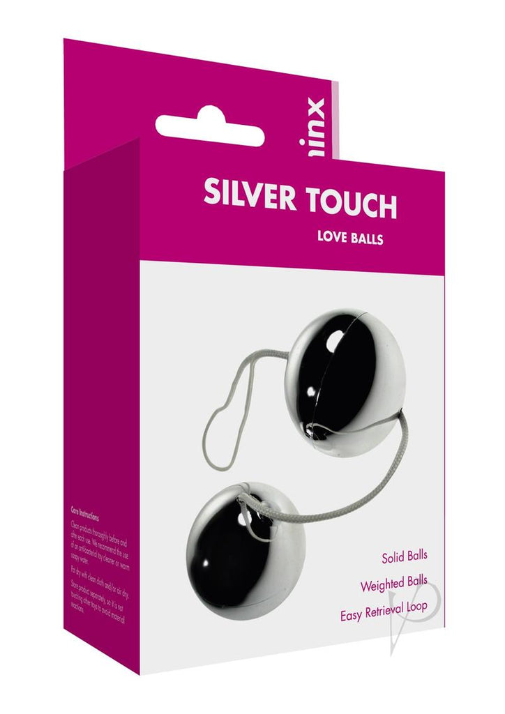 Minx Touch Love Balls Silver Os