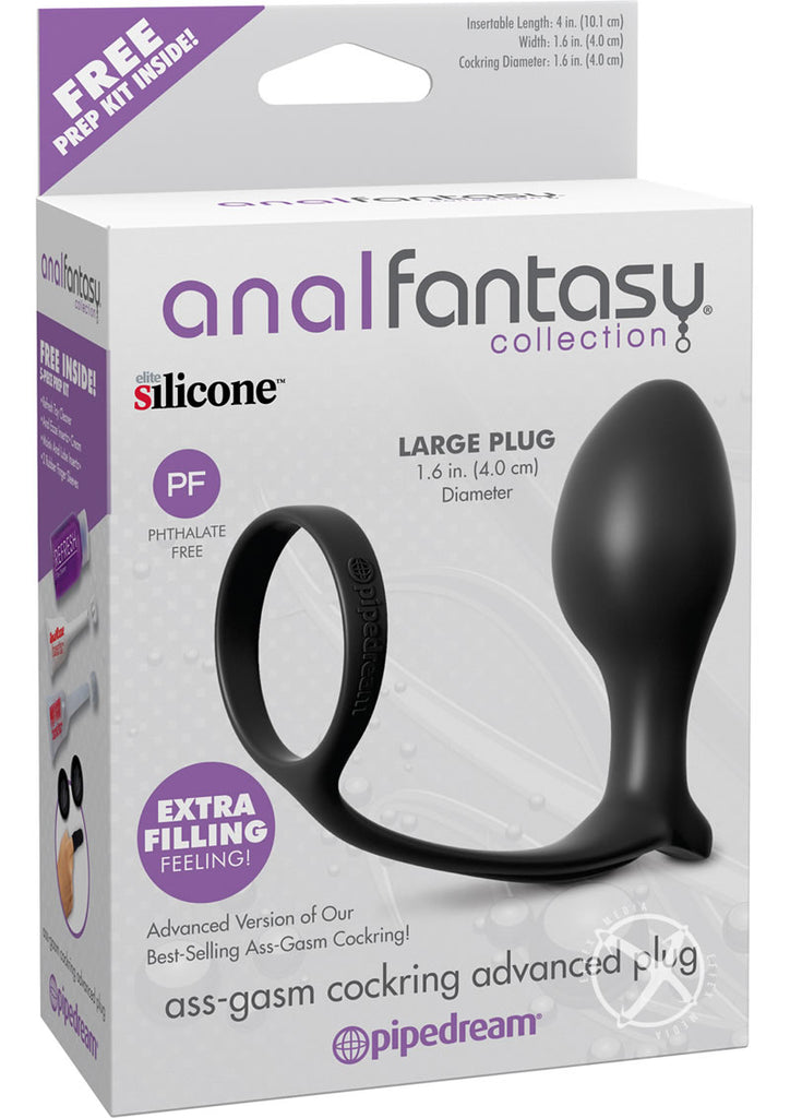 Afc Ass Gasm Cock Ring Advanced Plug
