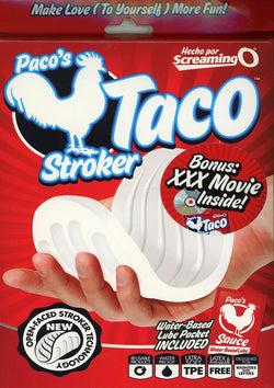 Pacos Taco Stroker With Free Movie (Included)