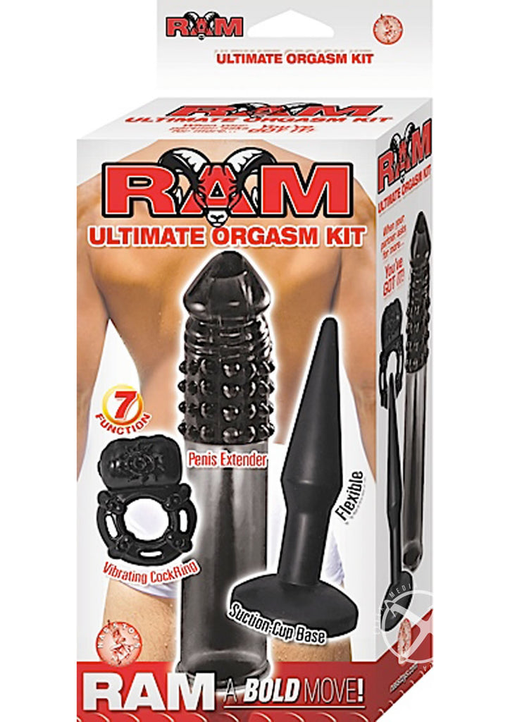 Ram Ultimate Orgasm Kit Black