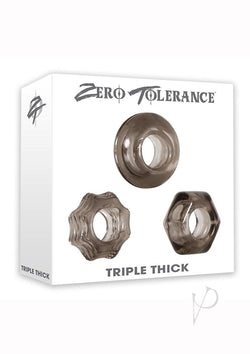 Triple Thick Cock Ring Set