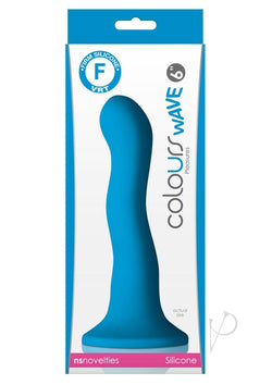 Colours Wave 6 Inch Dildo Blue