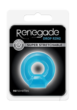 Renegade Drop Ring Blue