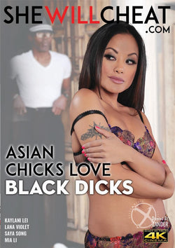 Asian Chicks Love Black Dicks