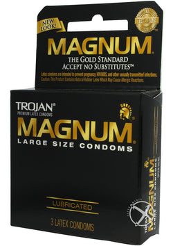 Trojan Magnum 3`S - [product_type ] - Daily Sensations