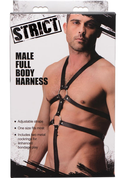 Strict Male Body Harness