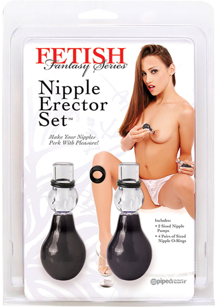 Ff Nipple Erector Set Black